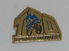 A38 PIN MOTORCROSS ENDURO DU TOUQUET 92 GOLD MOTO