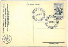 MOUNTAINEERING - Postal History : ITALY 1952 FDC CARD Military ALPINE TROOP