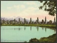 Wasatch Range From Liberty Park Salt Lake City A4 Photo Print