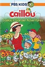 Caillou: Caillou's Garden Adventures (DVD, 2015, With Puzzle)