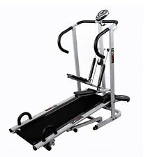 Lifeline 4 In 1 Manual Treadmill Jogger,Twister, Stepper With Fitted Push Up ***
