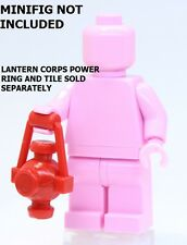 A271 Lego FIT CUSTOM Red Lantern Corps RED POWER LANTERN for superhero minifig