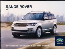 Range Rover Kit 22-page Car Dealer Accessories Brochure - 2013 2014