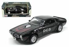 1973 PONTIAC FIREBIRD TRANS AM BLACK 1/24 DIECAST CAR MODEL MOTORMAX 73243