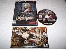 CASTLEVANIA LAMENT OF INNOCENCE - Playstation 2 PS2 - USA NTSC - EXC COND