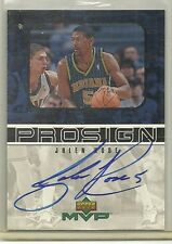1999-00 UD MVP - JALEN ROSE - Pro Sign Autograph - PACERS  MICHIGAN WOLVERINES