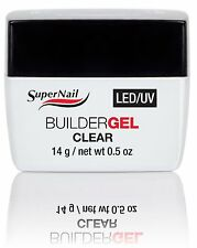 SuperNail LED/UV Builder Gel Clear - .5oz (51600)