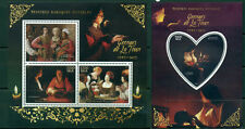 Georges de la Tour - Baroque art - Madagascar MNH set 4val +s/s