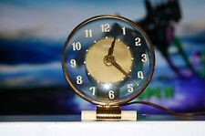 Vintage Telechron Copper Art Deco Electric Mantle Clock model 5h59