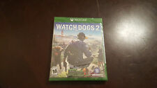 XBOX ONE  BRAND NEW FACTORY SEALED WATCHDOGS 2 USA RELEASE
