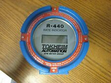 TOKHEIM EFM METER GROUP R-440 DIGITAL FLOW METER RATE INDICATOR