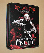 Resident Evil Operation Raccoon City limited Edition Steelbook Steel Case Rare