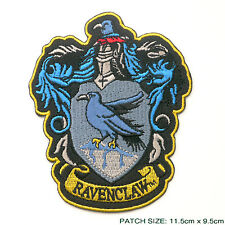 "HARRY POTTER ""RAVENCLAW"" EXTRA LARGE Embroidered Robe Patch"