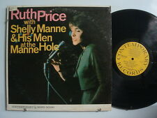 RUTH PRICE SHELLY MANNE & HIS MEN At The Manne Hole JAZZ LP CONTEMPORARY Mono DG