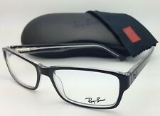 New RAY-BAN Eyeglasses HIGHSTREET RB 5169 2034 54-16 Black & Clear w/Demo lenses