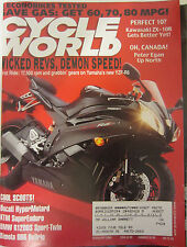 Cycle World Magazine February 2006 Kawasaki ZX-10R Ducati Hyper Motard KTM Super