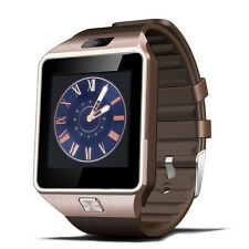 Bluetooth Smart Watch DZ09 For Android Phone Clock Support  SIM/TF Camera