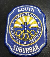 South Suburban Emergency Medical Services Patch