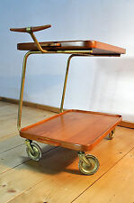 Cherry wood Serving trolley Coffee table Hagenauer Age in the Original condition
