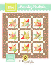 Mini Quilt Pattern ~ MINI LAUNDRY BASKETS ~ by Fig Tree Quilt Co.