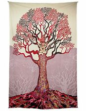 Celtic Tree Tapestry Tablecloth Beach Sheet Cool Wall Art w/ Corner Loops 60x90""