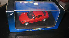 AUTOart 1.43 MAZDA RX-8 VELOCITY RED  AWESOME LOOKING CAR OLD SHOP STOCK  #55922