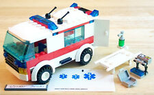 Lego 7890 City Ambulance Remake (VEHICLE ONLY, No Minifig, No Box) Emergency Car