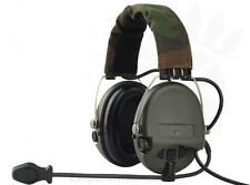 Z-TAC Sordin Headset Airsoft Softair Military Communication Cuffia