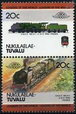 1940 SNCF Classe 160-a1 / 160A1 CHAPELON (2-12-0) France Train timbres / loco 100