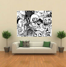 Memes Awesome Face Trollface Pete O'Bear GIANT WALL POSTER ART PRINT A099