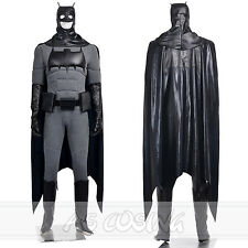 Batman Bruce wayne Top Grade Cosplay Costume Men Full Set Custom Made