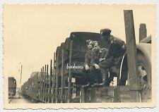 Foto Bahn/Zugfahrt  von Brüssel nach Lublin/Polen  1941   2.WK ( D985)
