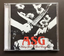 ASG - Feeling Good Is Good Enough CD EX+ 2004 11 Tracks North Carolina Band