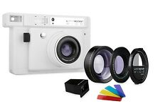 Lomography Lomo'Instant Wide White Camera Lenses Edition Fujifilm Instax  Film
