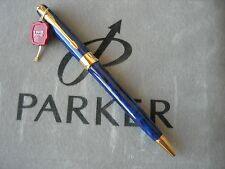 Parker Sonnet Blue Marble Gold Ballpoint