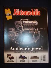 The Automobile - January 2015 - Amilcar - MG TD - Austin 7 - Marshall Arter