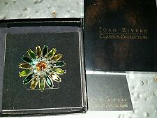Joan Rivers Garden Daisy Pin Brooch - New In Box