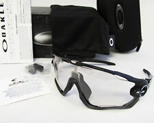 Oakley JAWBREAKER Polish Blk./Clear Blk Irid. Photochromic Sunglasses OO9290-14