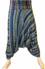 UNISEX Harem Trousers -CHILL OUT.TAI CHI Striped Chiz-ali baba design.1size
