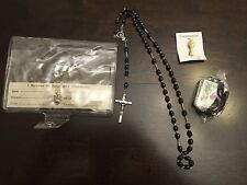 Prayer Beads My First Communion Rosary with Pin, Set LOOK! FAST SHIP! LOOK!