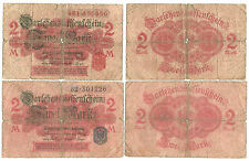 IT_Germany-2x2 Mark-1914/Red seal and Blue seal