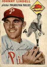 1954 Topps 51 Johnny Lindell POOR #D395082