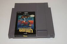 Ultima Quest Of The Avatar Nintendo NES Game Cartridge!