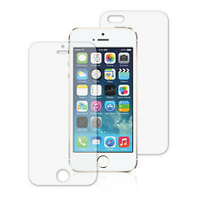 Clear Anti Scratch LCD Front and Back Screen Protector for Apple iPhone 5 New