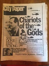 THE WASHINGTON CITY PAPER AUGUST 30 TO SEPT. 5 1985