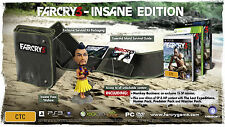 FAR CRY 3 INSANE EDITION PC - NEW SEALED - PRECINTADO NUEVO EDICION DEMENCIA