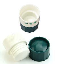 Useful Pill Medicine Crusher Grinder Splitter Tablet Divider Cutter Storage Box