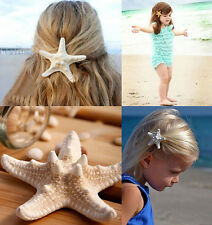 Lovely Womens Girls Sweet gift Nice Starfish Beach Sea Star Hairpin Hair Clip