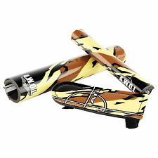 Oldschool BMX Pads In Camo ATI Stem Bar And BMX Frame Pad Set BMX Bikes