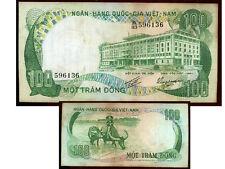 VIETNAM   100  Dông, 1972  (  596136  )